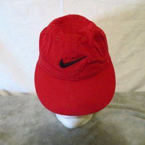 Nike red toddler hat